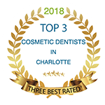 Top 3 cosmetic dentists award